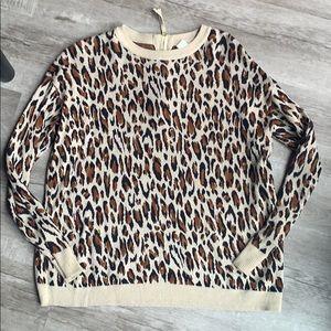Leopard H&M Sweater